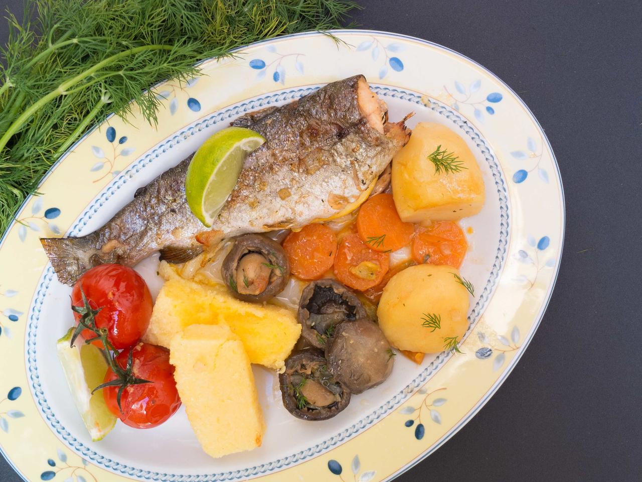 Poisson du Danube cuisiné par Diana