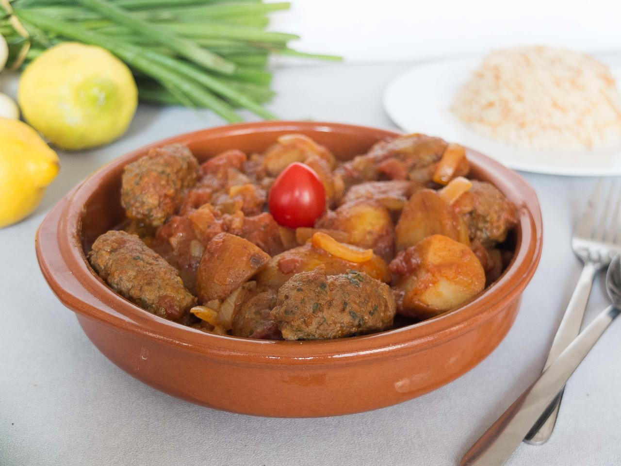 Kafta aux pommes de terre cuisiné par Jerome