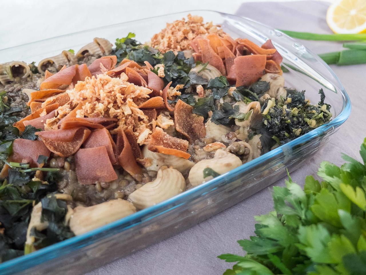 Harak Osbao végétarien cuisiné par Wafaa