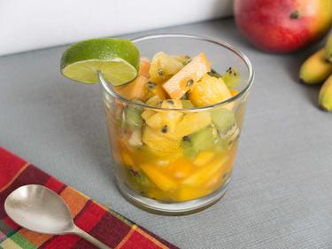 Salade de fruits exotiques cuisiné par Alison