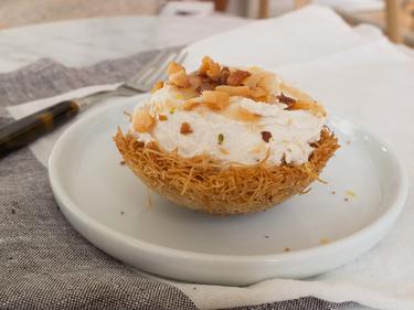 Caramel Cheesecake cuisiné par Anna