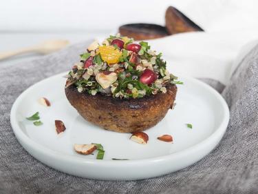 Champignon Rôti & Taboulé cuisiné par Anna