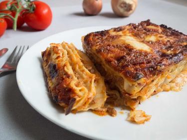 Lasagnes traditionnelles cuisiné par Elise