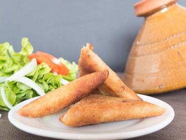 Bricks viande hachée ou fromage cuisiné par Fatima