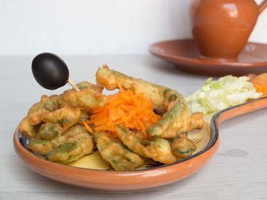 Peixinhos da horta ou poisson du jardin : beignets de haricots coco à déguster du bout des doigts cuisiné par Luisa