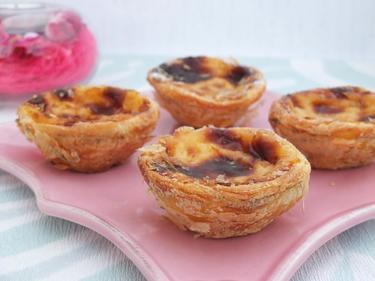 Pasteis de nata : les petits flans portugais cuisiné par Sylvie