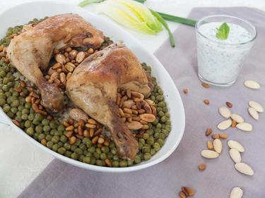 Riz au poulet à la libanaise (Roz a djej) cuisiné par Thanaa
