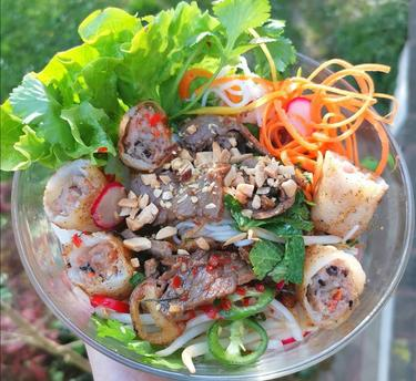 Bo Bun et nems cuisiné par Thao-Suong
