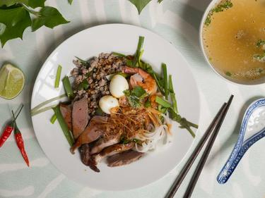 Hu Tieu Kho cuisiné par Thao-Suong