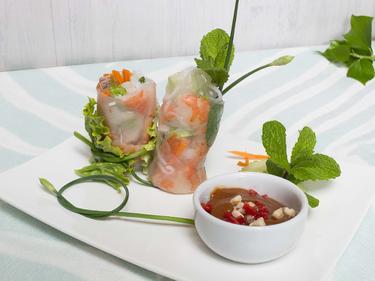 Rouleaux de printemps cuisiné par Thao-Suong