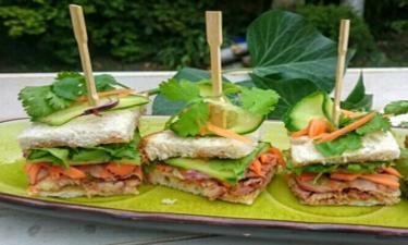Formule CLUB BANH-MI ( 3 sandwichs + fromage + dessert ) cuisiné par 20€ /pers
