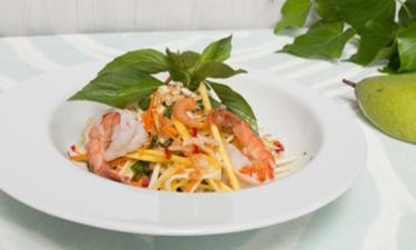 Plateau repas VEGGIE ASIE ( salade + quiche + dessert ) cuisiné par 20€ /pers